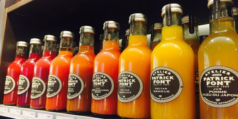 Nectars, Juices & Lemonade