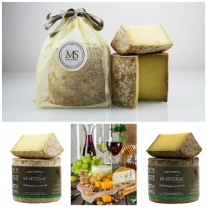 CANTAL CHEESE FROM MARIE SEVERAC